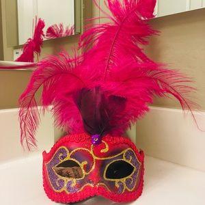 Pink Italian Mask - La Maschera Del Galeone